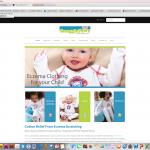 An e-commerce website developed on the Shopify platform for a children's clothing online retailer.