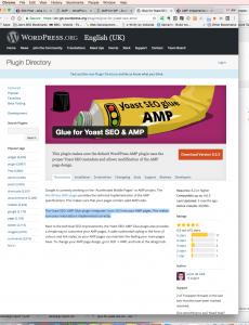 Glue for Yoast for easy AMP implementation on WordPress